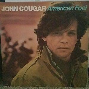 John Cougar  American  Fool Vinyl  Record